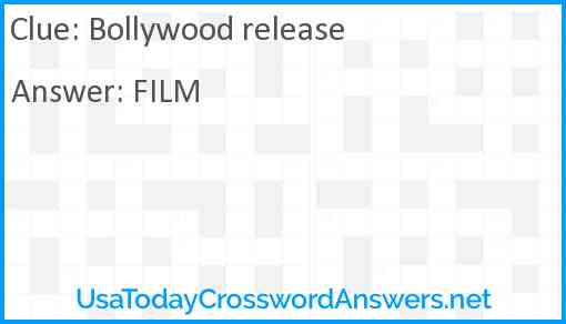 Bollywood release Answer