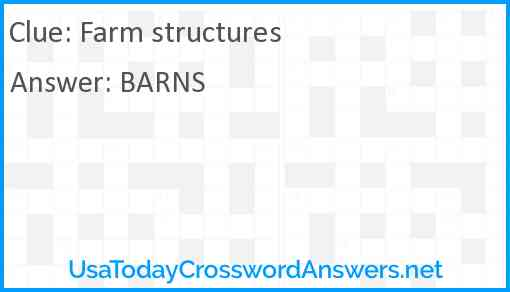 Farm structures Answer